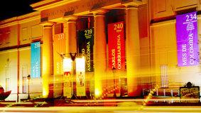 Entrada al Museo Nacional de Bellas Artes de Buenos Aires