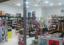 Entrada a la librería taiga luz del tajo