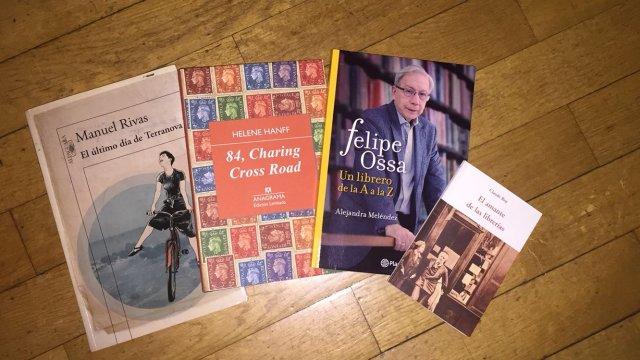 Imagen de Libros sobre librerías