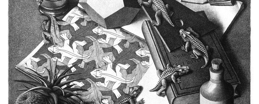 Imagen de Eschermanía versión ex libris